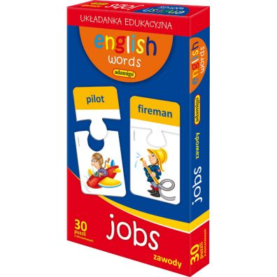 Puzzle English words Jobs