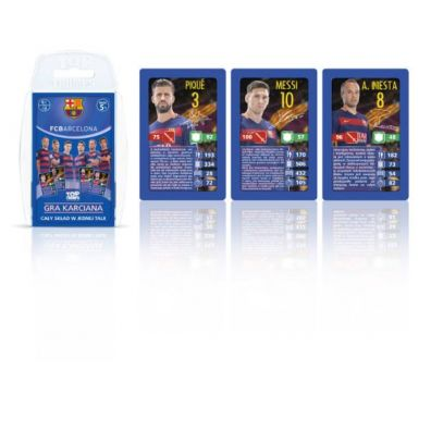 Top Trumps FC Barcelona
