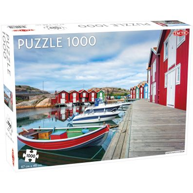 Puzzle 1000 Fishing Huts in Smge Tactic