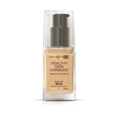 Max Factor Healthy Skin Harmony Miracle Foundation SPF20 podkład do twarzy 55 Beige 30 ml