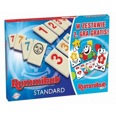 Rummikub 2w1 + Junior Tm Toys