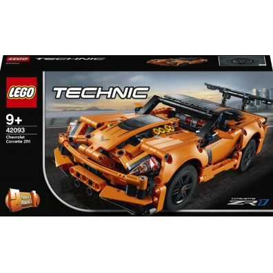 Lego TECHNIC 42093 Chevrolet Corvette ZR1 2w1