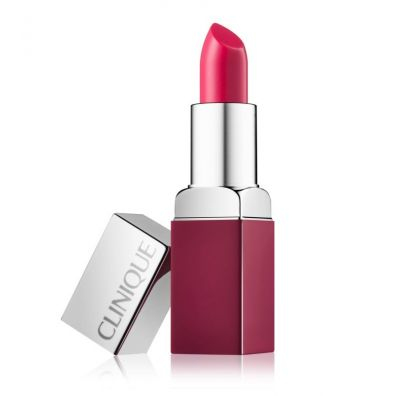 CLINIQUE_Pop Lip Colour and Primer pomadka do ust z wygładzającą bazą 10 Punch Pop 3. 3.9 g