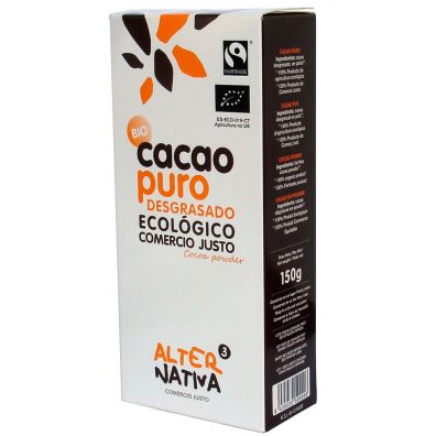 Alternativa Kakao w proszku fair trade 150 g Bio