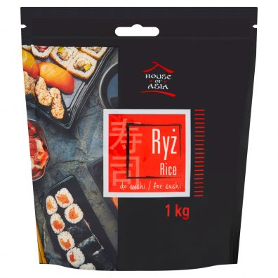 House of Asia Ryż do sushi 1 kg