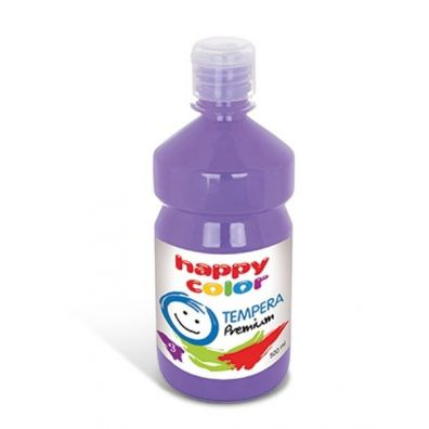 Happy Color Farba Tempera Premium 500 ml lawendowa