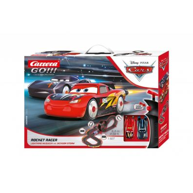 Tor GO!!! Disney Car Rocket Racer 62518 Carrera Carrera Toys