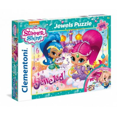 Puzzle 104 Jewels Shimmer and Shine