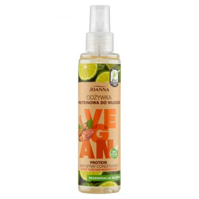 Joanna Vegan Protein Hair Spray Conditioner odżywka proteinowa w sprayu 150 ml