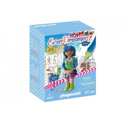 EverDreamerz. Clare Comic World. Playmobil 70477