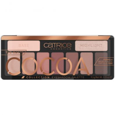Catrice The Matte Cocoa Collection Eyeshadow Palette paleta cieni do powiek 010 Chocolate Lover 9.5 g