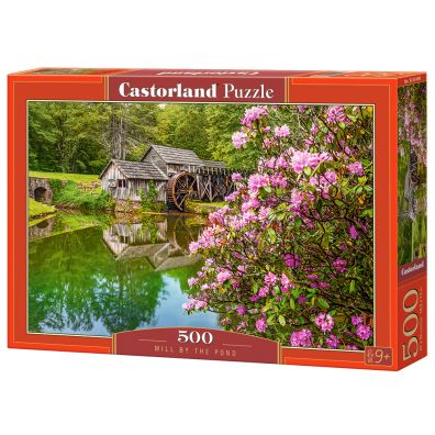 Puzzle 500 Mill by the Pond CASTOR Castorland