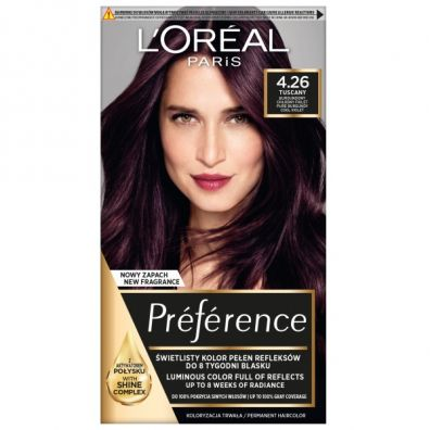 LOreal Paris Preference farba do włosów 4.26 Midnight Plum