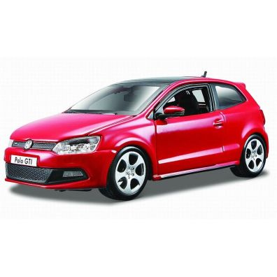 VW Polo GTI Mark 5 Red 1:24 BBURAGO