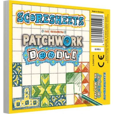 Patchwork Doodle: Notes punktacji Lookout Games