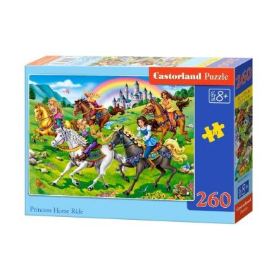 Puzzle 260 Princess Horse Ride