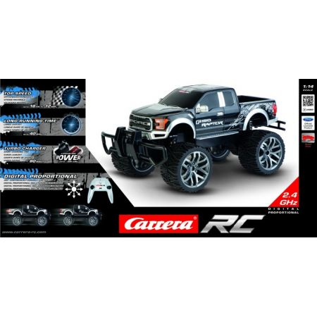 Carrera RC - Ford F-150 SVT Raptor Black 2,4GHz