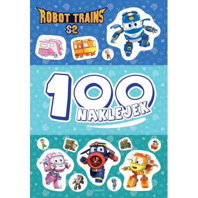 Robot Trains. 100 naklejek