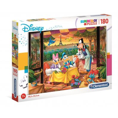 Puzzle 180 Disney Classic Mickey Mouse & Friends Clementoni