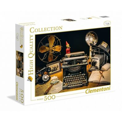 Puzzle 500 High Quality Collection The Typewriter