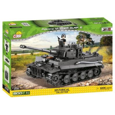 COBI 2538 Historical Collection WWII PZKPFW VI TIGER AUSF. E 800 klocków