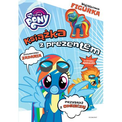 Rainbow dash. My Little Pony. książka z prezentem