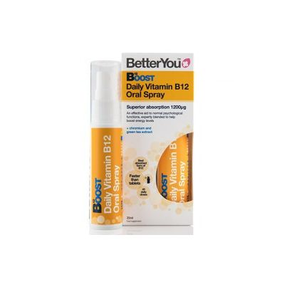 BetterYou Witamina b12 boost pure energy w sprayu