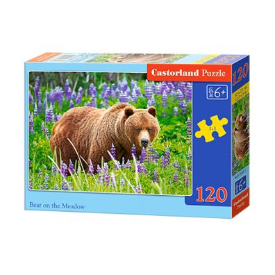 Puzzle 120 Bear on the Meadow CASTOR