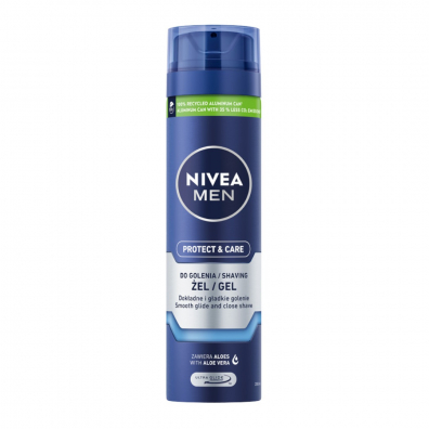 Nivea Ochronny żel do golenia Men Protect & Care 200 ml
