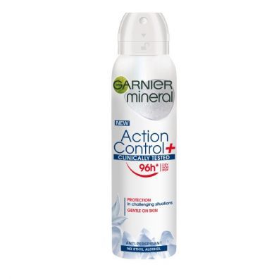 Mineral Action Control+ Clinically Tested Anti-Perspirant antyperspirant spray