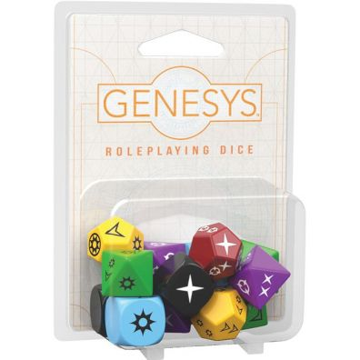 Genesys RPG: Dice Pack Fantasy Flight Games