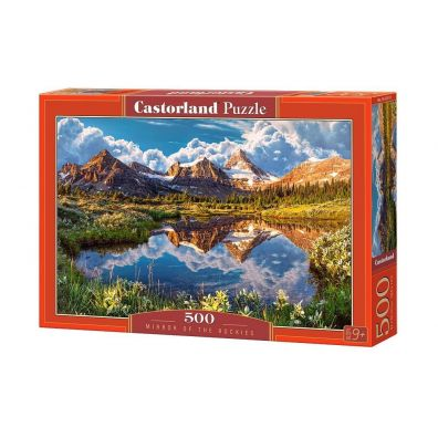 Puzzle 500 Mirror of the Rockies CASTOR