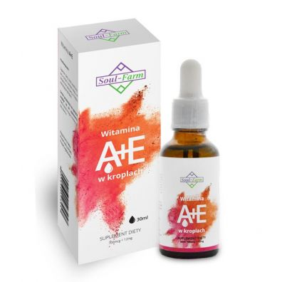 Soul Farm Witamina a+e w kroplach (700mcg+12mg) 30 ml
