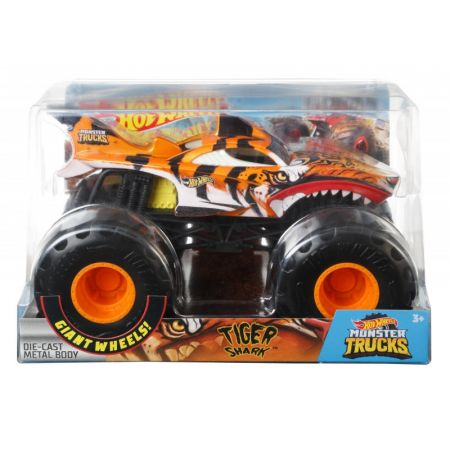 Hot Wheels. Monster Trucks Tiger Shark