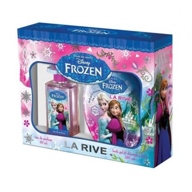 La Rive Disney Frozen Woda perfumowana spray 50ml + Bath Gel & Shampoo 250ml