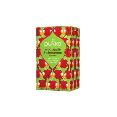 Pukka Wild apple & cinnamon 20 sasz. Bio