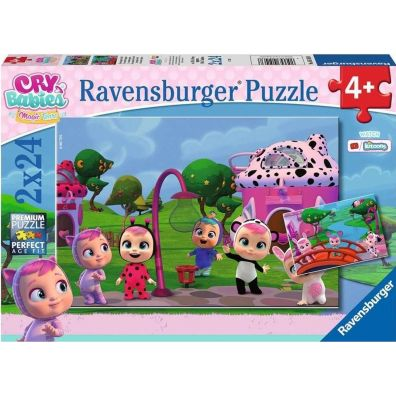 Puzzle 2w1. Cry Babies. Magic Tears Ravensburger