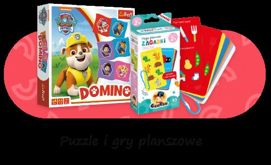 puzzle i gry planszowe