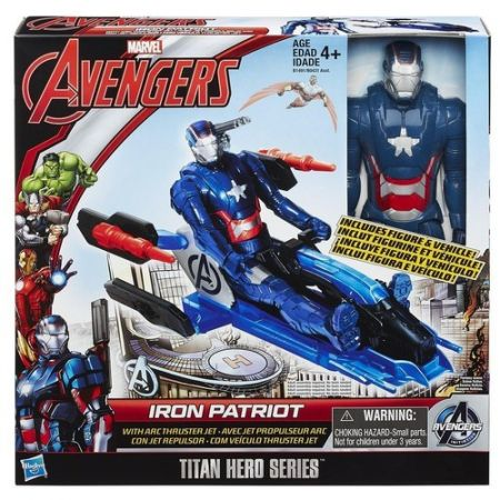 Avengers. Titan Hero. Iron Patriot na odrzutowcu