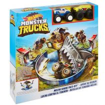Hot Wheels. Monster Trucks Arena Rekina zestaw Mattel