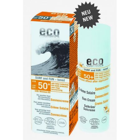 Eco Cosmetics SURF & FUN Krem na słońce SPF 50+ 50 ml