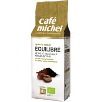Cafe Michel Kawa mielona arabica premium equilibre fair trade 250 g bio