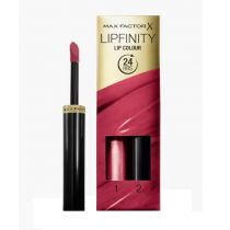 Max Factor Lipfinity Lip Colour pomadka do ust 335 Just In Love 2,3 ml + Top Coat 1,9 g