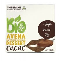 The Bridge Deser owsiany z kakao 4 x110  g Bio