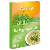 Amaizin Pasta curry thai green 80 g Bio