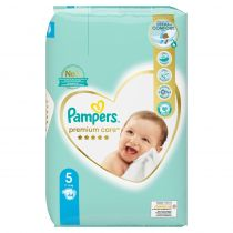 Pampers Pieluchy Junior 5 Premium Care (11-18 kg) 44 szt.