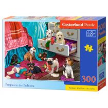 Puzzle 300 Puppies in the Bedroom CASTOR