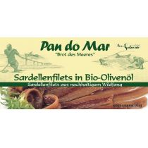 Pan Do Mar Anchois (sardele) w oliwie z oliwek 50 g bio