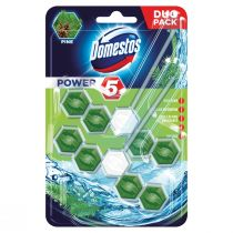 Domestos Power 5 kostka toaletowa Pine 2 x 55 g