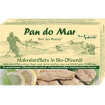 Pan Do Mar Makrela w oliwie z oliwek 120 g bio